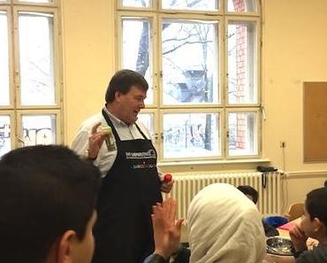 Kochen als Willkommensgruß