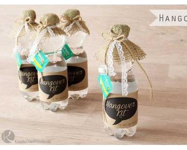 Hangover-Kit zur Hochzeit