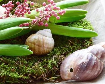Frühling en miniature oder: Gourmet-Deko