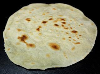 Wrap/ Tortilla (Grundrezept) (4Stck)