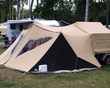 Raclet Faltcaravan – Campen wie Gott in Frankreich