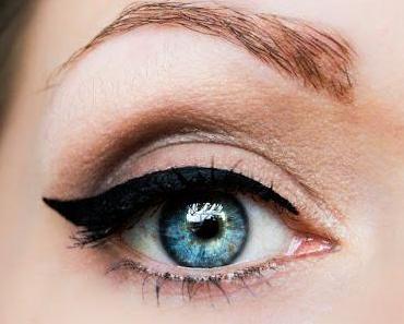 """Tages-Make-up mit sanften Brauntönen aus der BH Cosmetics """"28 Color Palette - neutral Eyeshadows"""""""