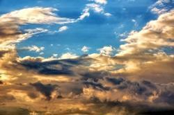 Die kleine Geschichte und der wandernde Sonnenuntergang