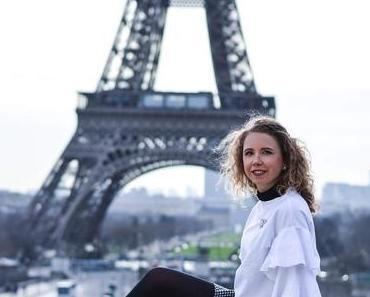 Kationette Outfit: Volants, Vichy Check and Chanel in front of the Eiffel Tower, Paris