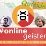 Interview with Dongxii (English) — #Onlinegeister Quickie (Social-Media-Podcast)