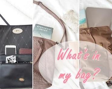 Meine Must-Haves in der Handtasche