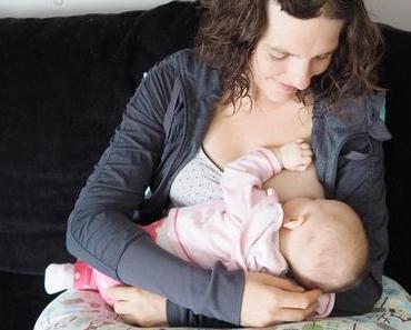 {Family} Hilfe, beim Baby hängt rund um die Uhr an der Brust