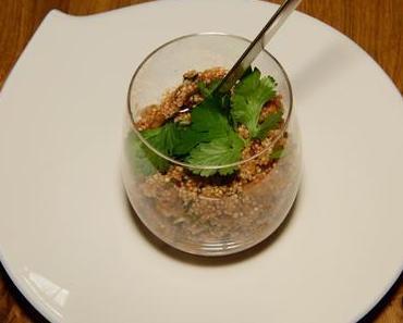 Quinoasalat mit Kichererbsen (vegan)