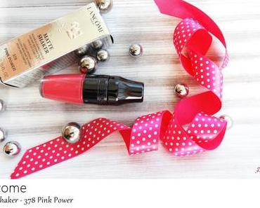 Lancome Matte Shaker - 378 Pink Power - Liquid Lipstick