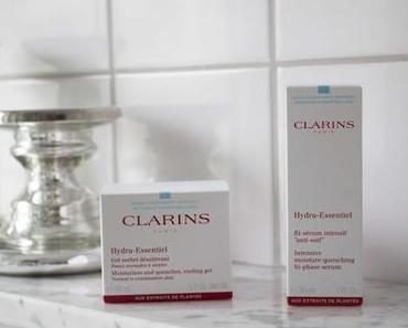 Clarins // Hydra-Essentiel Pflegelinie für Mischhaut