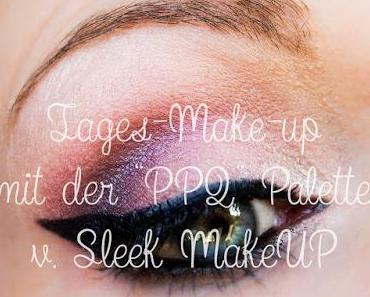 """Nachgereicht: Video zum zarten Tages-Make-up mit der """"PPQ""""-Lidschattenpalette von Sleek MakeUP"""