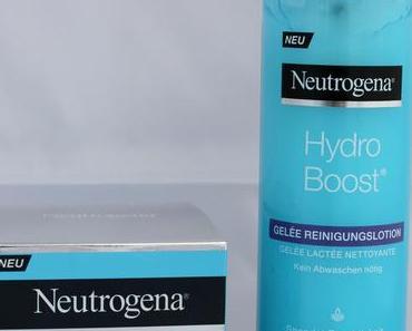 Neutrogena Hydro Boost Aqua Gel und Gelée Reinigungslotion