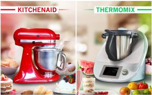 Zu Gewinnen: KitchenAid oder Thermomix