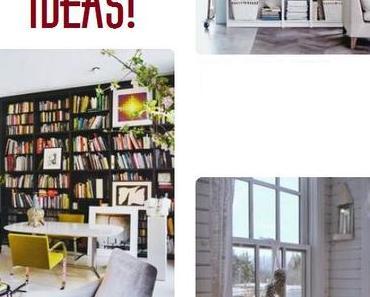 Pläne für ein Bücherzimmer #Buchgeplauder [1]