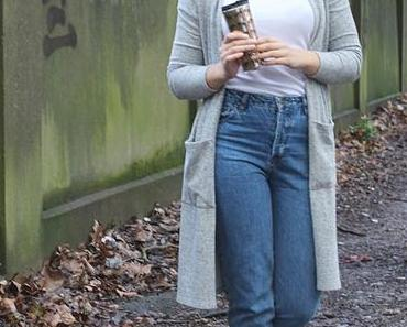 Fashion Firsts: Mom Jeans und Long Cardigan