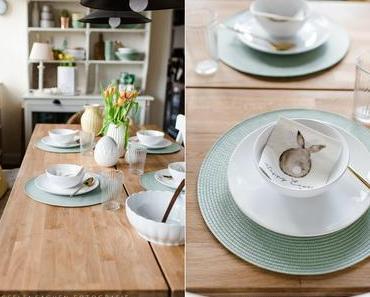Frühjahrsspecial: It`s green! Österlicher Tisch
