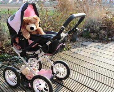 Der coole Panda-Puppenwagen von Knorrtoys + Osterverlosung