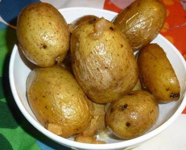 Backofenkartoffeln mit Rückenspeck