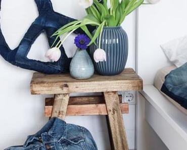 DIY Blue Jeans - Kissen