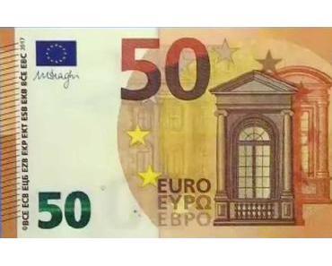 Ab heute gibt es neue 50 Euro-Scheine