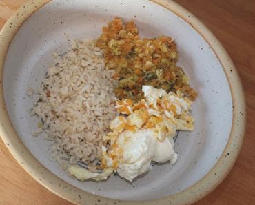 Veggie-Rezept mit Ei und Quark