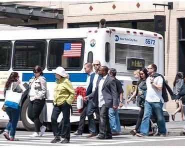 Geh-zu Fuß-zur-Arbeit-Tag – der amerikanische National Walk to Work Day 2017