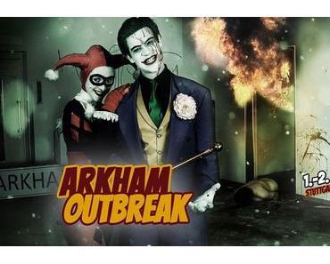 Graffiti-Künstler, Ghostbusters und Arkham Asylum auf der Comic Con Germany 2017 in Stuttgart