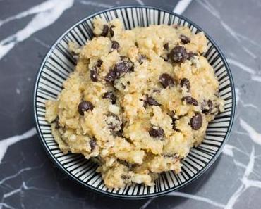 Gesunder Cookie Dough – Keksteig zum Löffeln