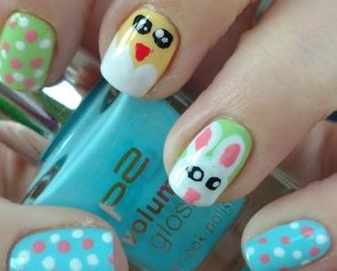 [Nails] NailArt-Dienstag: Ostern mit Häschen und Küken