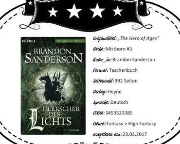 Brandon Sanderson – Herrscher des Lichts