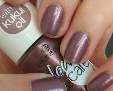 [Nails] essence glow & care luminous nail polish 07 keep calm and glow on
