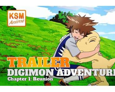 Digimon Adventure tri. Chapter 1: Reunion ab dem 21. Mai im Kino