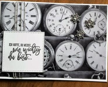 """""""Zeit"""" für eine neue Karte"""