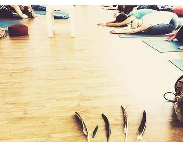Mä im Gefühls- und Kakaorausch beim Shamanic Yoga Workshop mit ReLoveSoulution in Hamburg