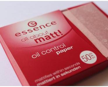 Essence - All about Matt! Oil Control Paper