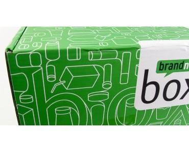 brandnooz Box April 2017 ausgepackt