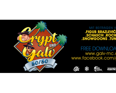 CRYPT & GALV – 50/50 EP – free download