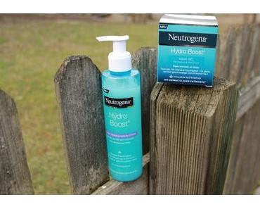 Review Neutrogena Hydro Boost Aqua Gel & Gelée Reinigungslotion