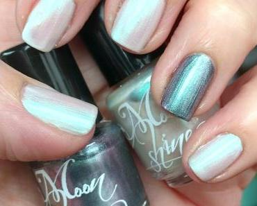 [Nails] LACKphabet: I wie Indie Nagellack mit Moonshine Mineral Make Up Februar & Einhorn