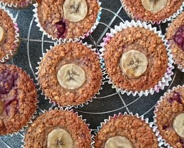 Bunte Frühstücks-Muffins