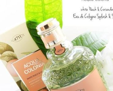 4711 Acqua Colonia - White Peach & Coriander -  Eau de Cologne Spray  #sommerduft