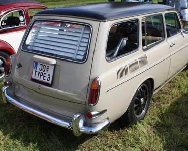 50 Jahre Volkswagen Variant auf der Techno Classica