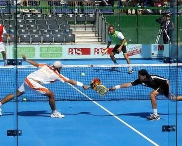 In Europa kaum bekannt: Pádel Tennis