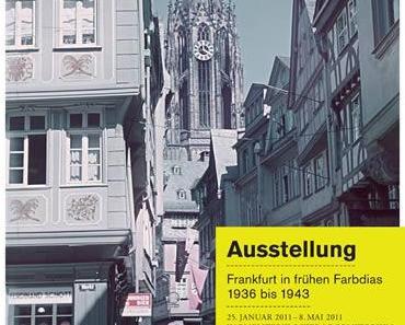 Frankfurt am Main in frühen Farbdias 1936 bis 1943