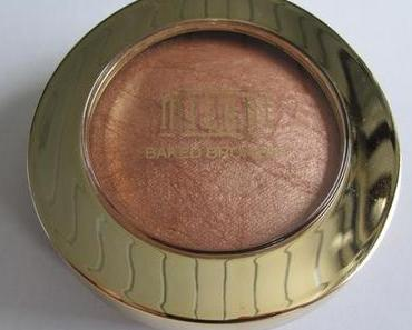 Review: MILANI Melanged Baked Bronzer – 04 Glow