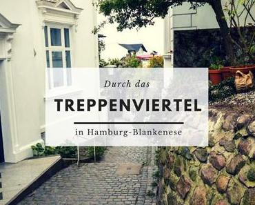 Durch das Treppenviertel in Hamburg-Blankenese