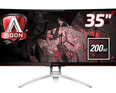 AOC AG352QCX: Großer Monitor für eine große Übersicht - Lets-Plays.de