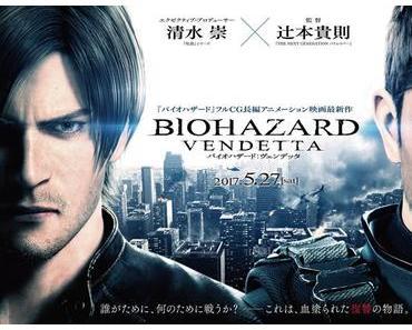 Resident Evil: Vendetta – Neuer Action-Trailer veröffentlicht