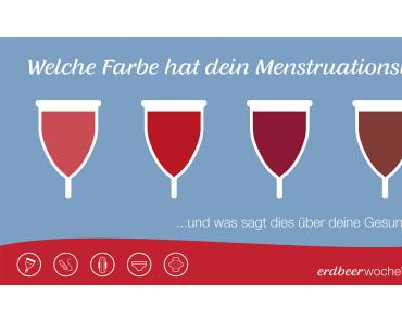 Was die Farbe deines Menstruationsblutes über deine Gesundheit verrät