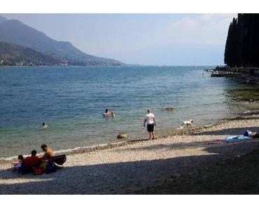 Der Hundestrand von Peschiera del Garda